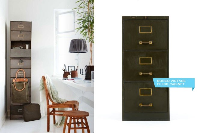Industrial Style   Filing Cabinets