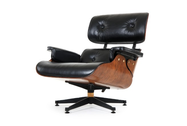 Eames Lounger And Ottoman