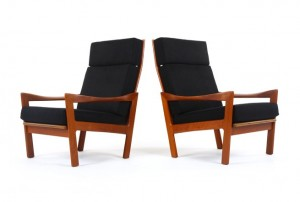 Illum Wikkelso for N. Eilerson Armchairs