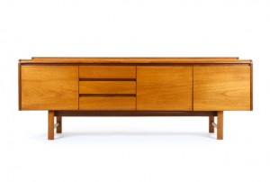 White and Newton Curved Lip Sideboard