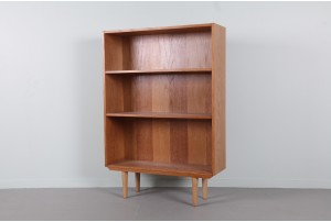 Danish Oak Book Case - Compact
