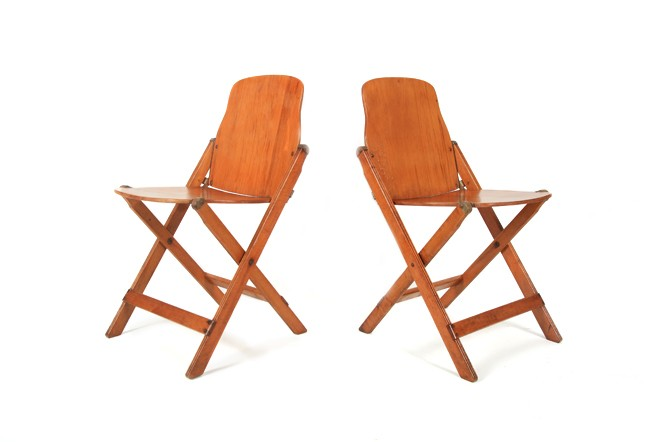 Vintage Storkline Folding Chairs
