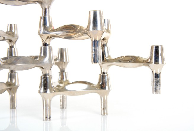 BMF Nagel Wavy Candlestick Holders