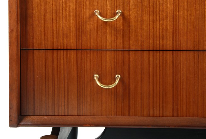 Tola and Black Lowboy Drawers