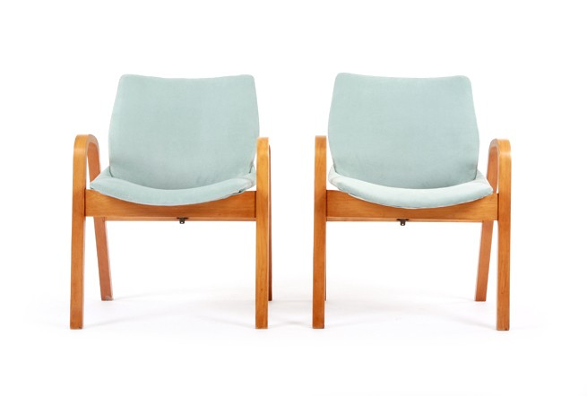 Bentwood 1950s Occasional Chairs