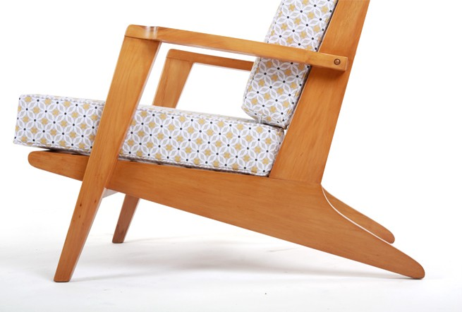 Architectural 1950s Armchairs