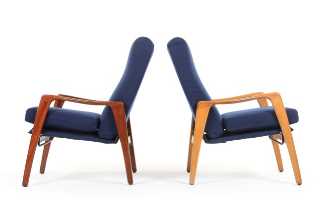 Pair of Fler E31 Armchairs