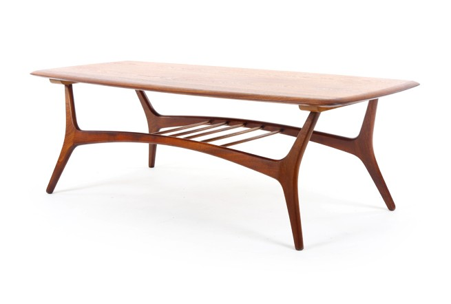 Craftrite Solid Mahogany Coffee Table