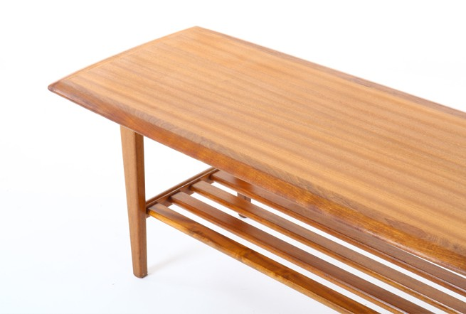Jon Jansen Mahogany Coffee Table