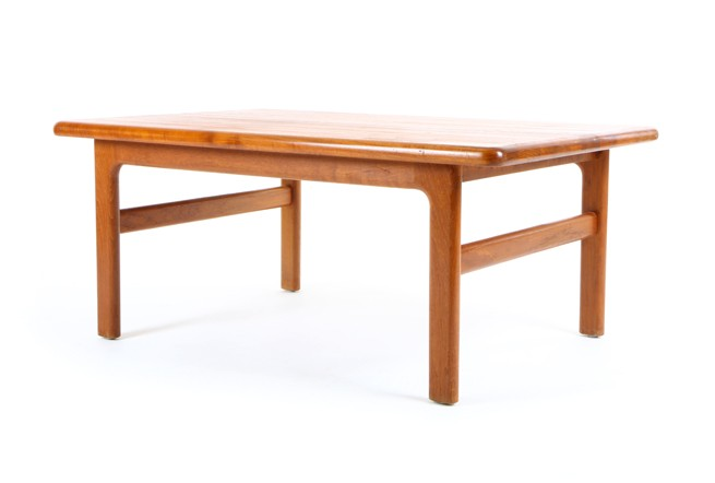 Mr bigglesworthy mid century modern and designer retro furniture Solid teak coffee table