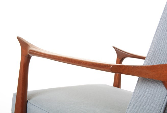 Highly Sculpted Viking Armchairs