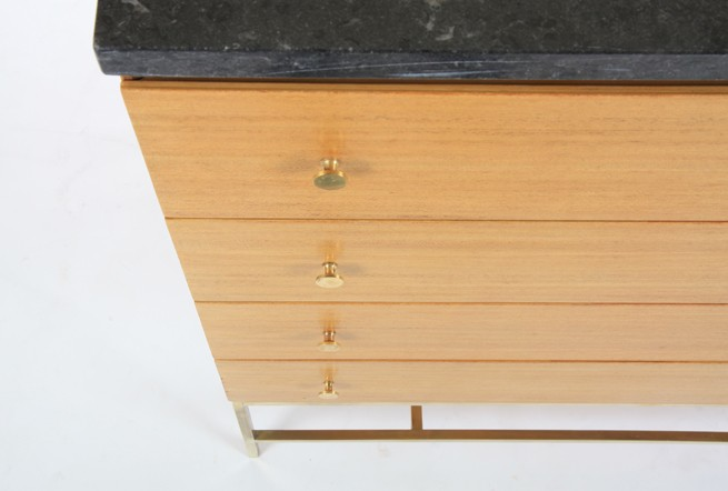 Paul McCobb Marble Top Drawers for Calvin Furniture