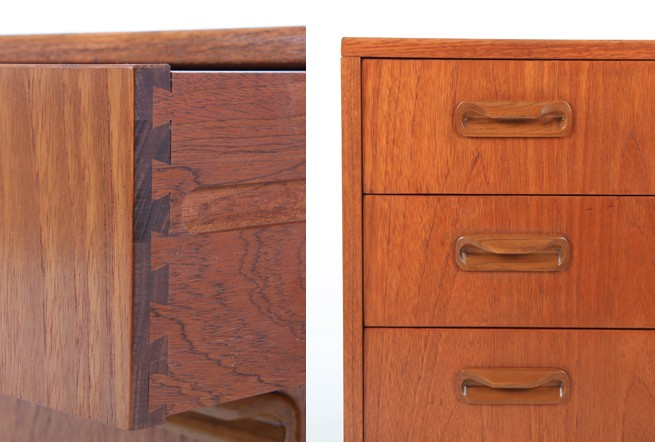 Compact G-Plan 'Fresco' Teak Drawers