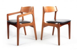 Six Otto Larsen Dining Chairs