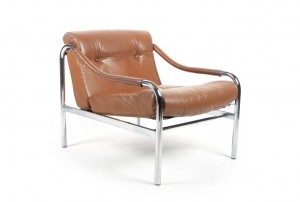 Pieff 'Beta' Leather Armchair