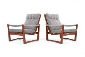 Don Trapezoid Armchairs