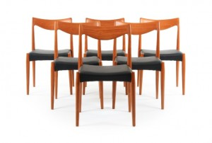 Backhouse Teak Dining Chairs