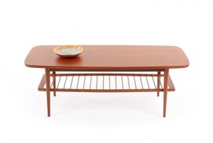 Otto Larsen Mahogany Coffee Table