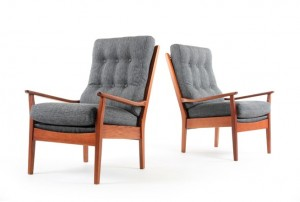 Mid Century Don Armchairs