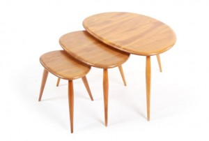 Ercol Nesting Pebble Tables