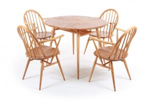 Ercol Elm Dining Table