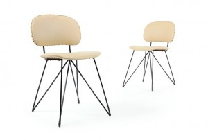 Garth Chester Atomic Side Chairs