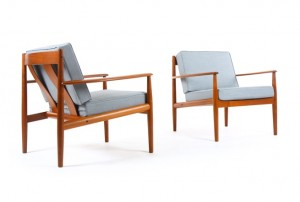 Grete Jalk Model 118 Armchairs