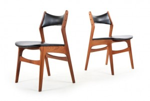 Six Danske Mobler Dining Chairs
