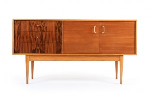 Uniflex Rosewood and Teak Sideboard