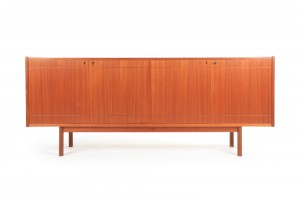 Danish Linear Teak Sideboard