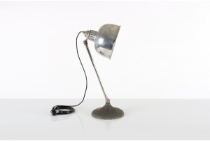 Large Infratherm Lamp with Round Base
