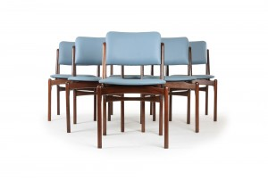 Rare Otto Larsen Dining Chairs