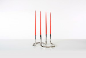 Peter Karpf Gemini Candleholder for Architectmade