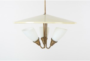 Mid Century New Zealand Ceiling Lamp