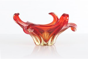Murano Twisted Tendrils Bowl
