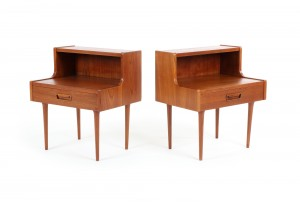 Pair of Backhouse Bedside Tables