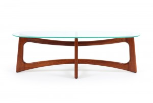 Adrian Pearsall Walnut Coffee Table
