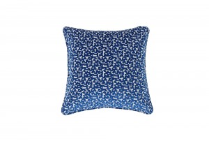 Deluxe 45cm 8-Bit Blue Cushion