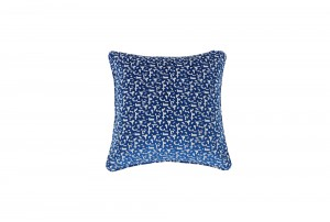 Deluxe 55cm 8-Bit Blue Cushion