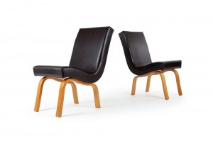 Pair of Tibor Donner Council Chairs