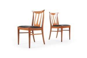 Six G-Plan 'Chester' Dining Chairs