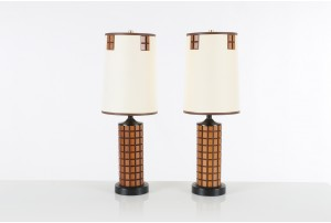 Pair of Mid Century American Table Lamps