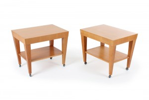Pair of Cherrywood Bedside Tables