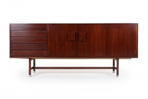 Linear Mid Century Rosewood Sideboard