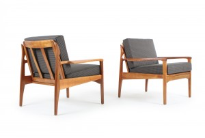 Pair of Fler Narvik Armchairs