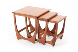 G-Plan Arched Nesting Tables