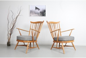 Pair of Ercol Armchairs
