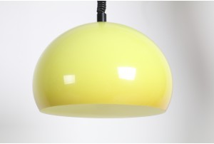 iGuzzini Style Rise and Fall Lamp – Yellow