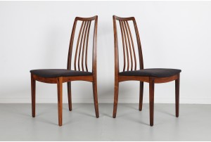 Six Danish Rosewood Dining Chairs