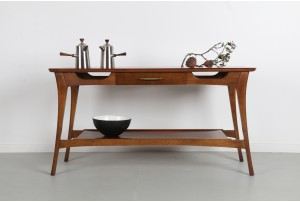 American Walnut Console Table
